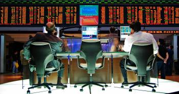 Stock Market Trader Desk